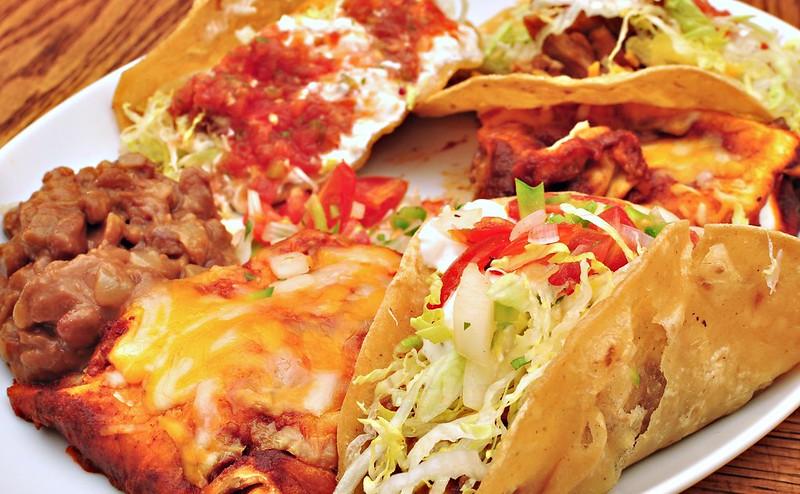 Porky Down's best-ever cheesy chicken enchiladas