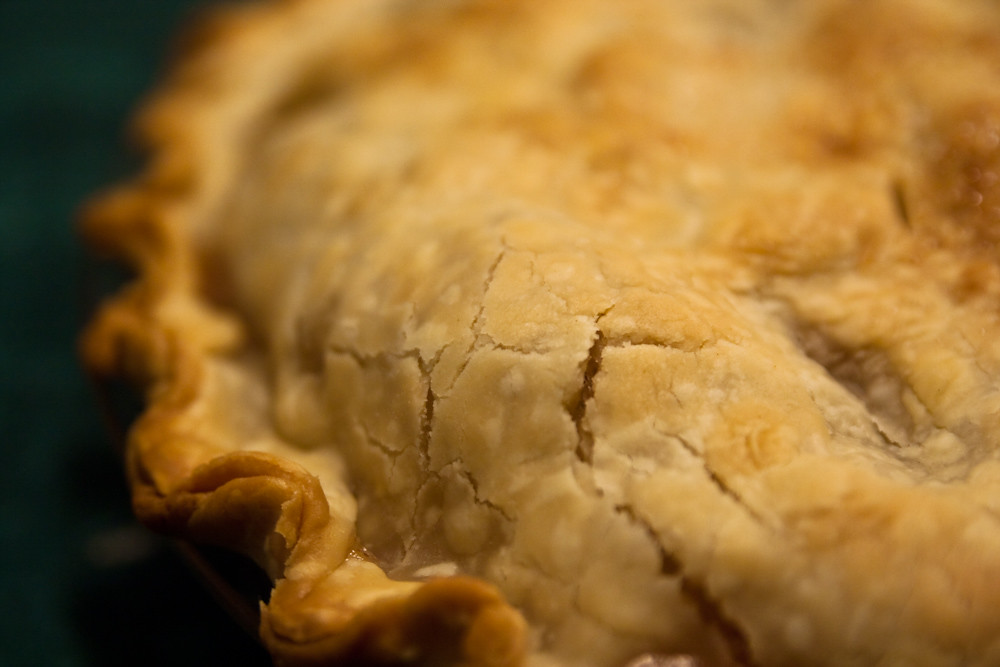 Porky Down's Hearty Lamb & Rosemary Pie