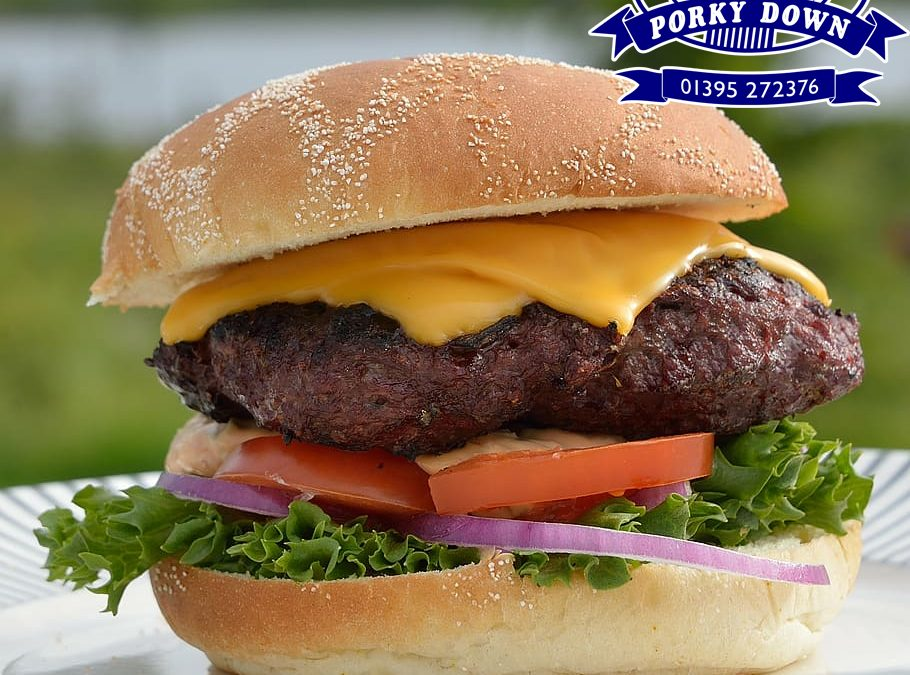 Porky Down's popular beef burgers